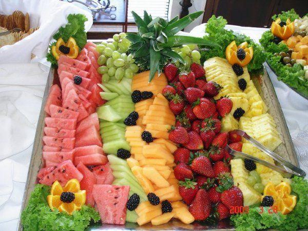 Fresh fruit station
