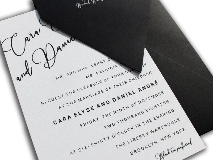 Tmx Wed 15 51 408390 Livingston, New Jersey wedding invitation