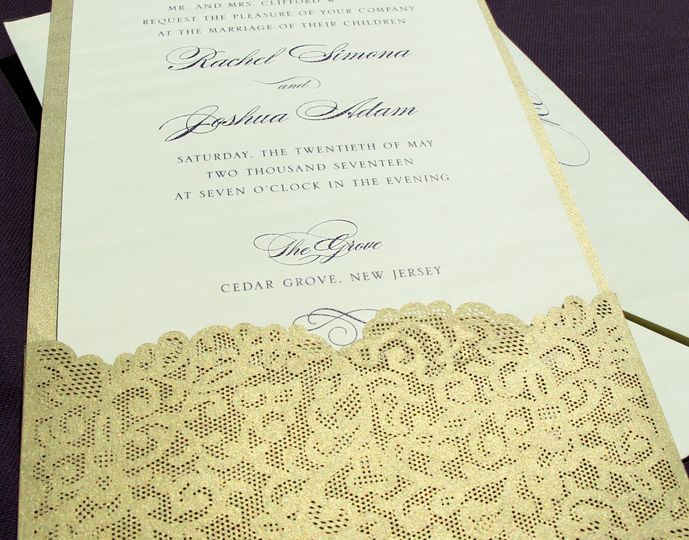 Gold envelope