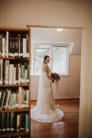 Portland, OR garden wedding