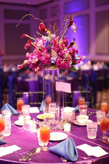 Color Scheme-Purple, cornflower blue, silverRomantic, Chic