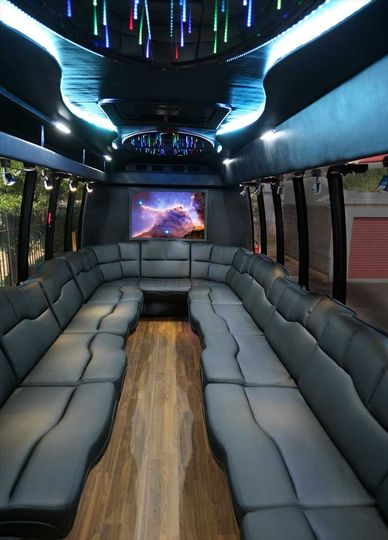 Truffle Shuttle Party Bus Limousine Virginia Beach Va