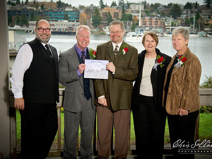 Tmx 1464809895800 Dave Wes Dec9 2012 004 Seattle, Washington wedding officiant