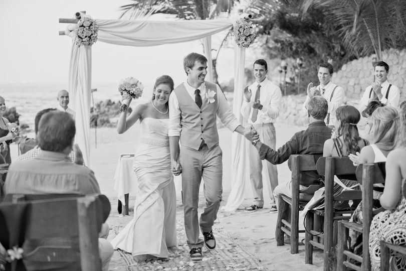 Ceremony at the beach