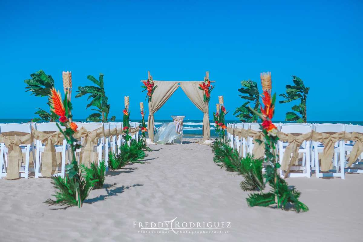 South Padre Beach Ceremony