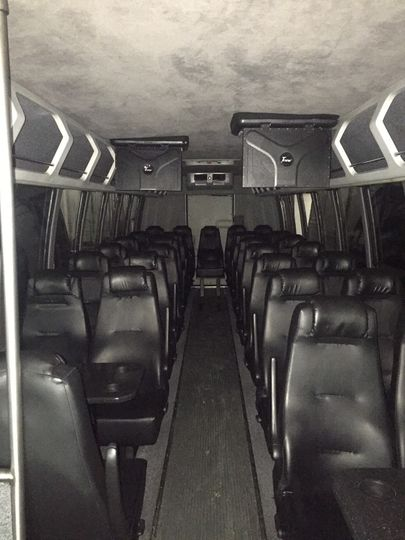 shuttle coach interior