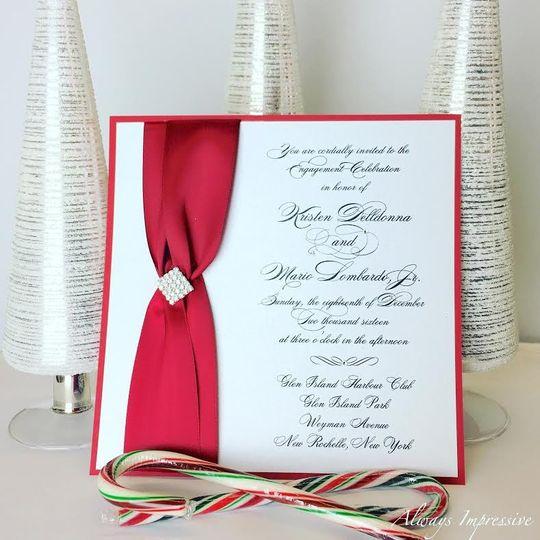 Red ribbon decoration