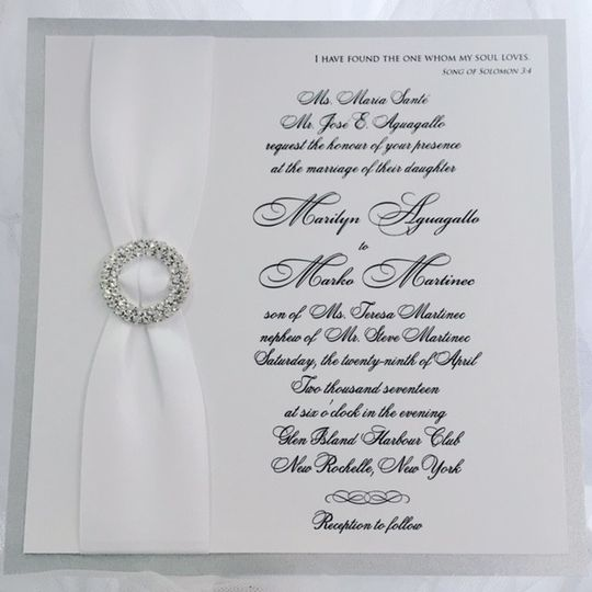 White riboon decoration