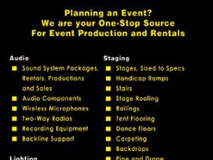 Tmx 1327599242050 Services Johnston wedding eventproduction