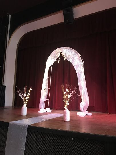 Arch on the stage