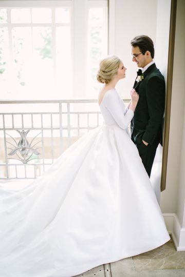 Karen Hendrix Couture Dress Attire Nashville Tn Weddingwire