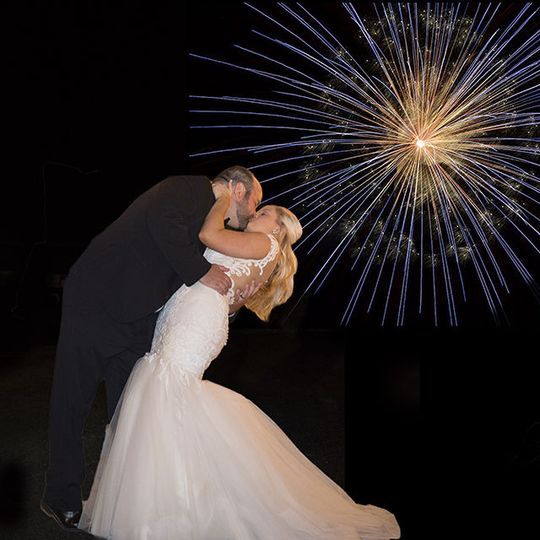 The Beginning... sealed with a Kiss and Fireworks!!