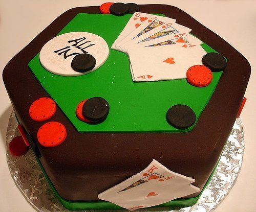 Power table grooms cake