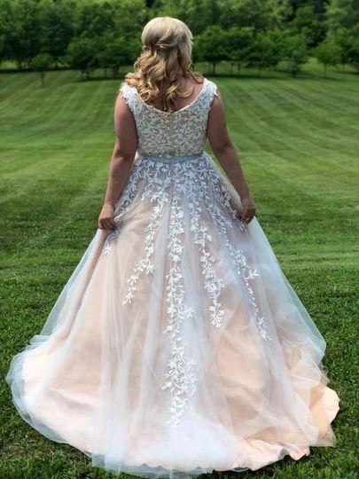 A magnificent dress