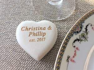 Tmx Personalized Heart Stones 51 560590 Minneapolis, MN wedding favor