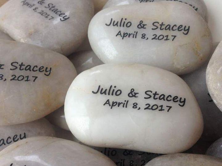 Tmx Wedding Stones Personalized 51 560590 Minneapolis, MN wedding favor