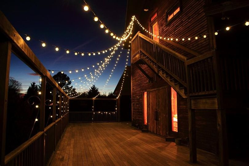 edison lights at night