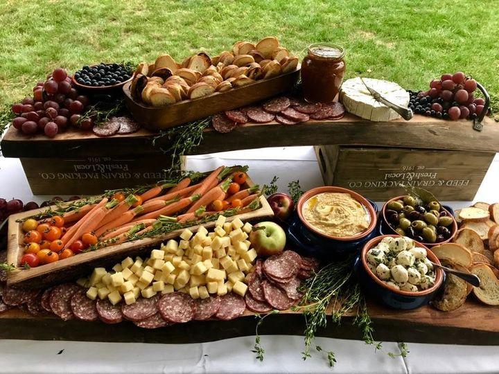 Harvest platters