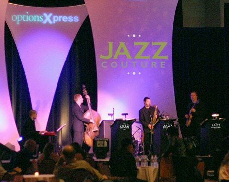 Jazz Couture performing at the Sheraton Chicago Hotel & Tower