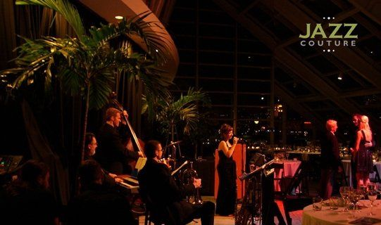 Jazz Couture performing at The Adler Planetarium, Chicago, IL
