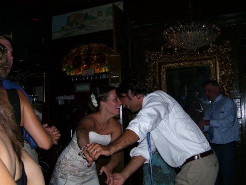 Bride & Groom dancing to Jazz Couture at Orso's Restaurant, Chicago, IL