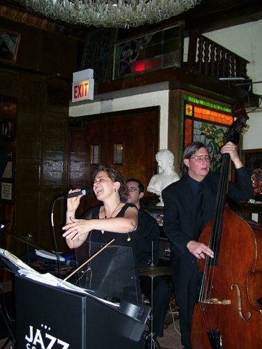 Jazz Couture performing at Orso's Restaurant, Chicago, IL