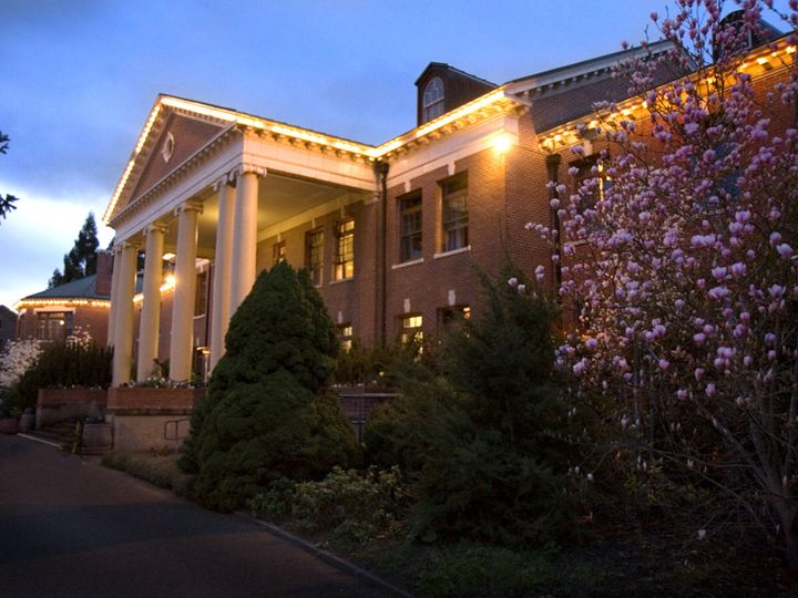 Tmx 1383772514112 Lodge At Night With Bloom Forest Grove, OR wedding venue