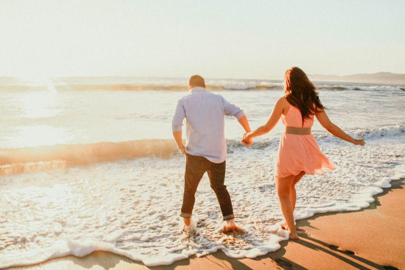 Los Angeles Beach Engagement