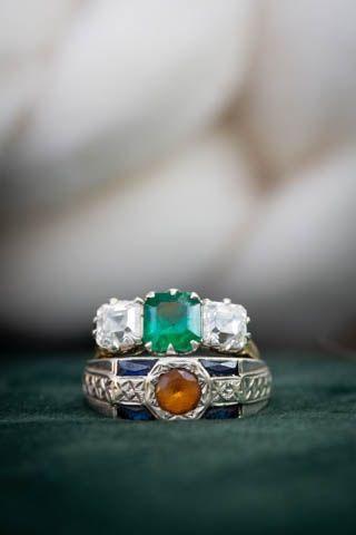 Unique ring settings