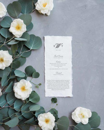 ester menu copy
