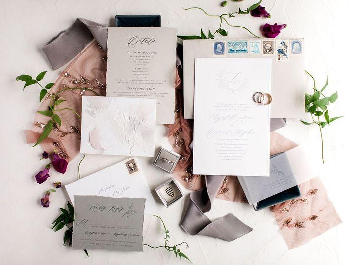Michigan Wedding Invitation