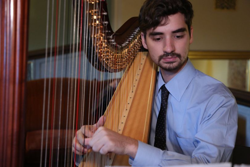 Smart attire - Stephan Haluska Harp