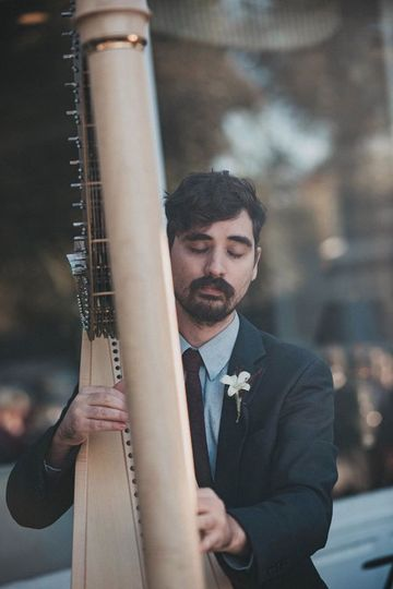 Music in motion - Stephan Haluka Harp