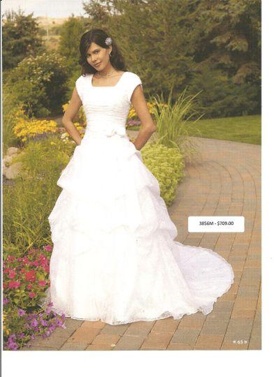 Modest Gown Rental Dress Attire Gilbert Az Weddingwire