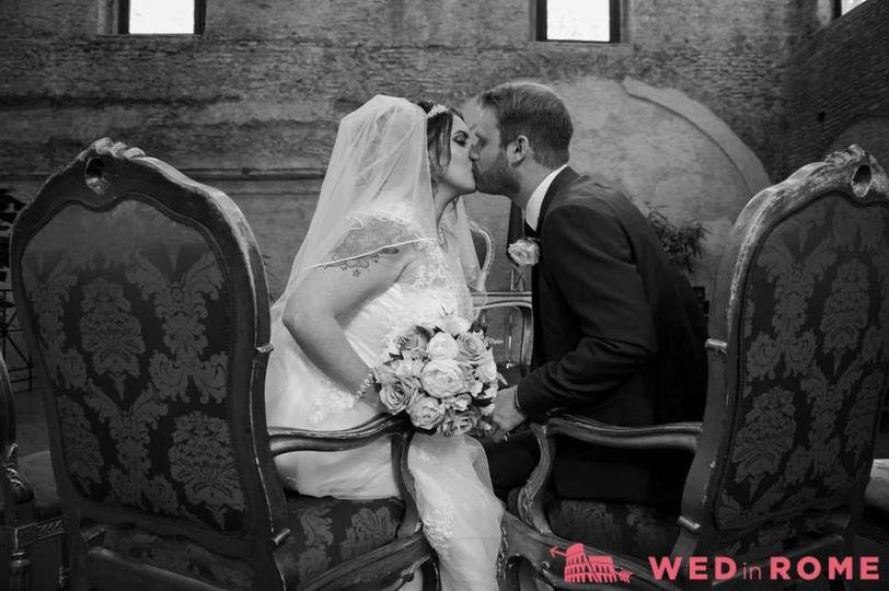 Beautiful civil ceremony.
