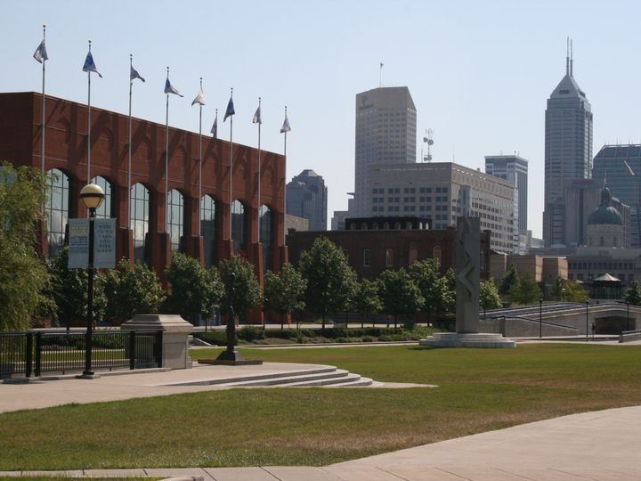 Tmx 1463076474443 Hoc Front Of Building With Skyline Indianapolis, IN wedding venue