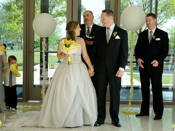 Tmx 1463076627507 Atrium Ceremony Bride And Groom Indianapolis, IN wedding venue