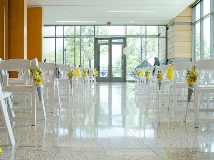 Tmx 1463076652731 Atrium Ceremony Yellow And Gray Indianapolis, IN wedding venue