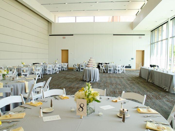 Tmx 1463076728762 Ballroom B Yellow Gray Table Closeup Indianapolis, IN wedding venue