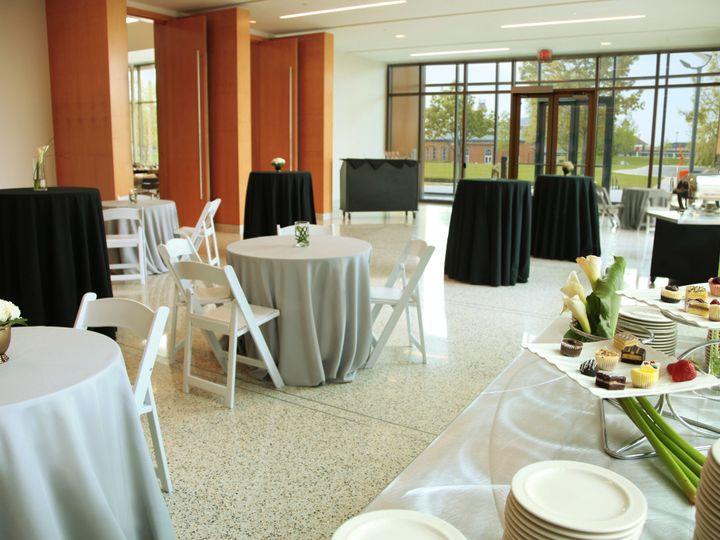 Tmx 1504709745688 Ballroom Atrium Cocktail Tables  Food Stations Indianapolis, IN wedding venue