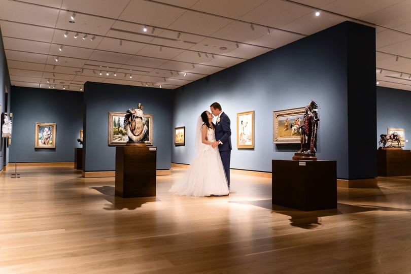 Couple in Gallery