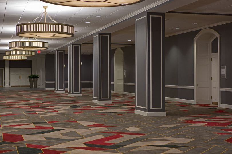 Spacious Ballroom Foyer