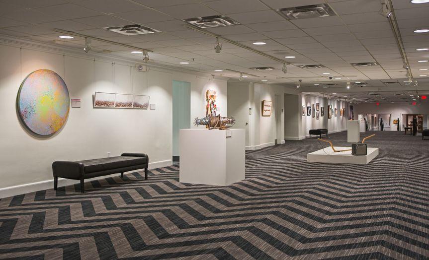 Lower Level Art Gallery