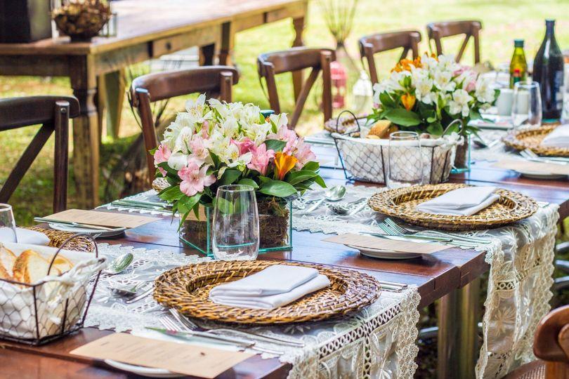 Rustic Chic inspired wedding
