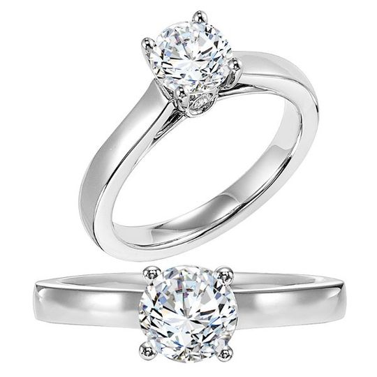 Solitaire Engagement Rings - Shaftel Diamond Co. - Houston