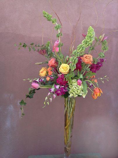 Artichokes Pomegranates Wedding Flowers New Mexico Albuquerque