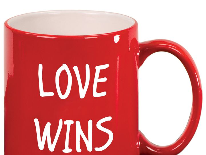 Tmx 1446104244771 Love Wins Red Mug 2a Issaquah wedding favor