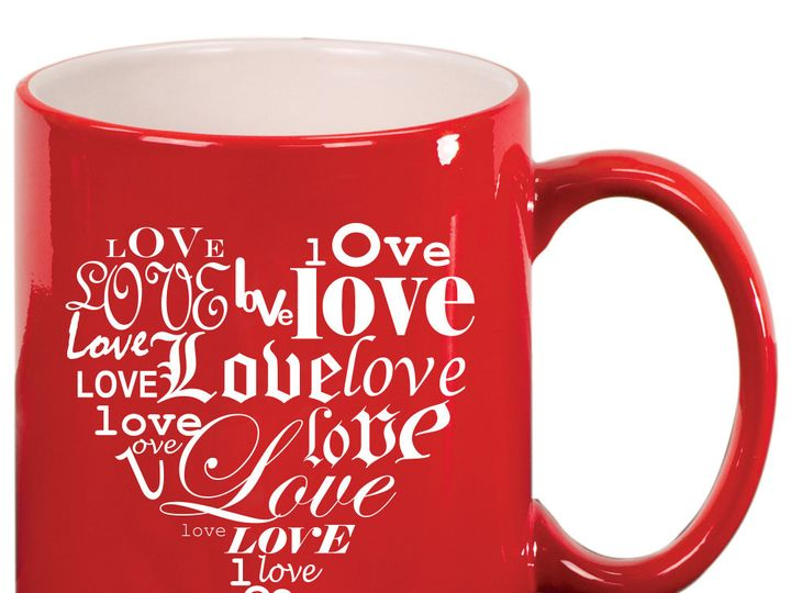 Tmx 1446104394713 Love Heart Mug   Red Issaquah wedding favor