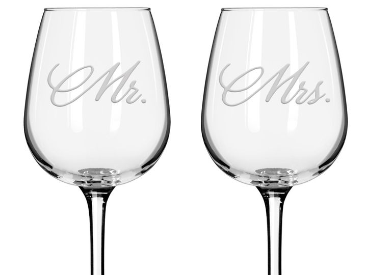 Tmx 1446104485350 Mr Mrs Wine Horizontal Issaquah wedding favor