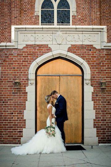 Morris Chapel Brass Doors